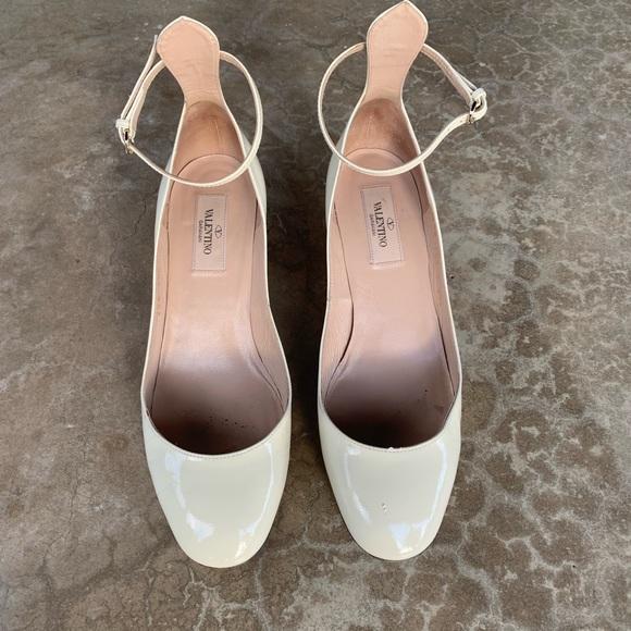 ba60c2c7554ab Valentino Garavani Shoes | Valentino Tango Pumps In Patent Ivory ...